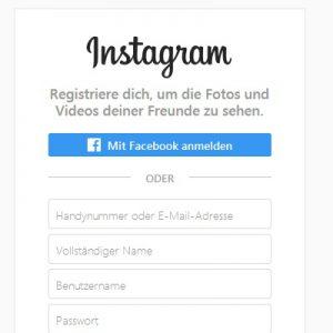 Instagram.De Anmelden